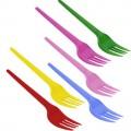 Garfo Sobremesa Colorido Sortidos CX20/PCT50